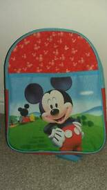 Mickey Mouse Rucksack (willing to negotiate)
