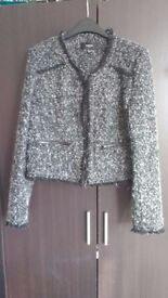 Ladies Mango Boxy Jacket, size medium, new without tags.