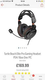 Turtle beach elite headset