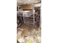 NIECO GAS AUTOMATIC BURGER BROILER N1512 GRILL / PIZZA SHOP / CAFE / CATERING / OVEN