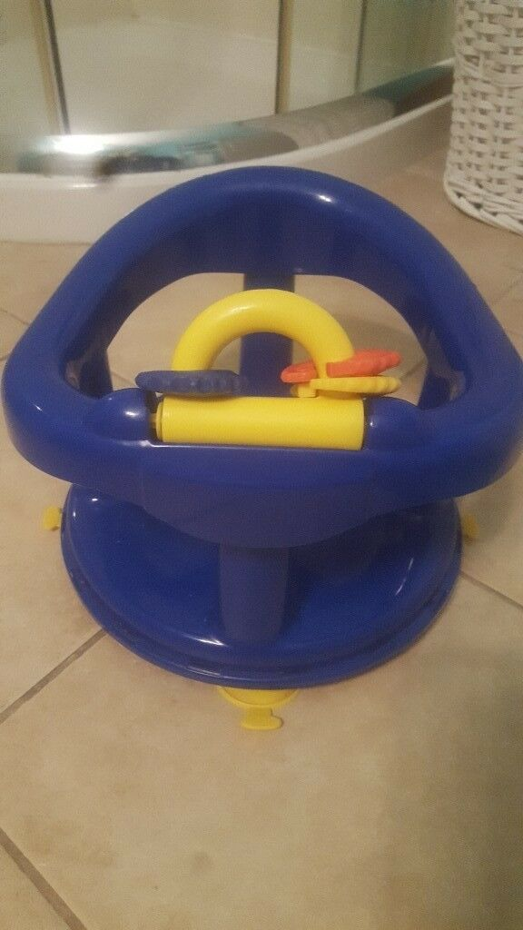 Blue baby bath seat   in Dromore, County Tyrone   Gumtree