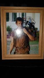 Genuine Norman Reedus autograph (frame included)