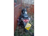 Free spares or repair moped