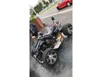 Spy f1 road legal quad 250cc