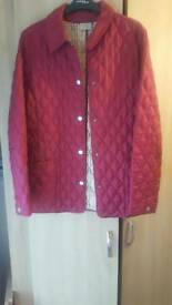 Ladies barbour style coat
