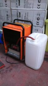 SMALL POWER FULL QUITE IN OPERATION DEHUMIDIFIER/AIR/BUILDING DRYER PUMP-OUT NO ATTENDANCE NEEDED