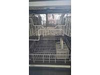 Miele freestanding dishwasher.