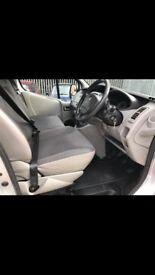 Vauxhall Vivaro 6 Seater Crew/Surf Van