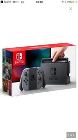 Nintendo switch console-Grey ( Brand new)