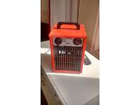 Heavy duty 1 or 2 Kw heater