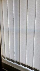 Vertical blinds x 3