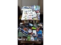 170 course/carp pieces of BRAND NEW fishing tackle.