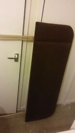 Brown fabric head board free