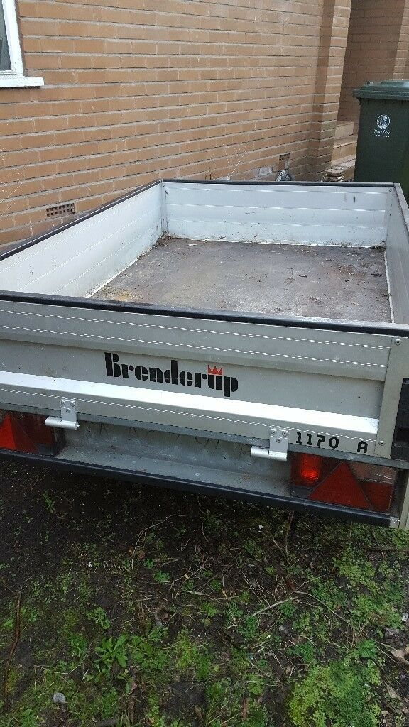 Thule Brenderup 1170a Box Trailer In Hexham