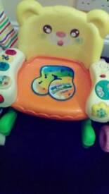 Plastic kids seat
