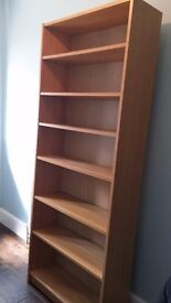 Pair of Ikea Billy Bookcases