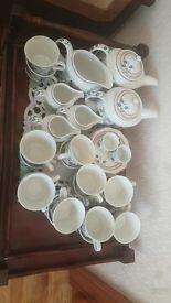 Tea cups, saucers, tea pots , jugs etc
