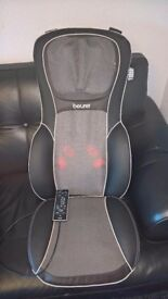 Beurer shiatsu massage seat cover RRP £200 used only 2-3 times