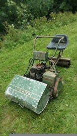 Atco royale vintage ride on mower