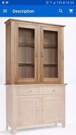 Oak sideboard top brand new boxed(solid oak)
