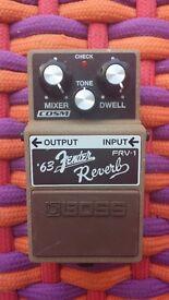 Boss FRV-1 Fender Spring Reverb '63