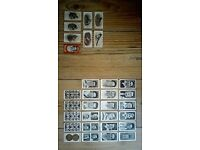 Vintage Football And Cigarette Cards