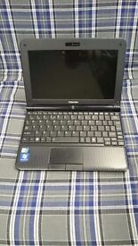 Toshiba NB250 Netbook with Windows 7 Home Premium. Excellent battery life , also has office.