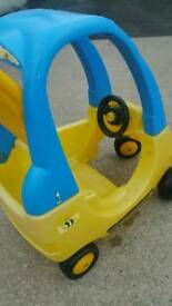 Little Tikes Bumble Bee push pedal buggy car