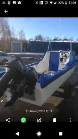 18ft reiver fishing boat