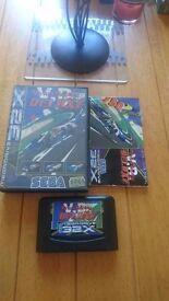 Virtua Racing Deluxe Sega Mega Drive 32X Boxed Complete Rare