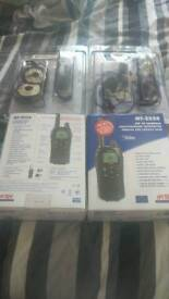 Motorcycle radios and headsets
