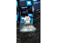 Job lot of 11 GU10 bulbs