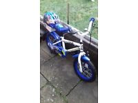 childs Police Bike. Excellent condition. Age 4 to 6