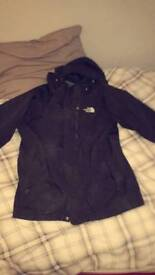 North face hyvent coat