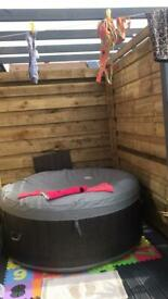 2-4 person hot tub