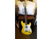 electric guitar fender strat copy