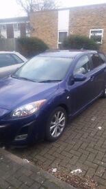 2010 Mazda 3 2.2D 185BHP Sport Nav FMSH Fully Loaded Quick Sale