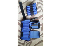 ALL PRO ANKLE / WRIST CUFFS – 40 * 1 LB (0.5KG) INDIVIDUAL WEIGHTS – REHAB / EXERCISE RRP £111