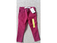 Girls skinny jeans 2-3 years - new with tags