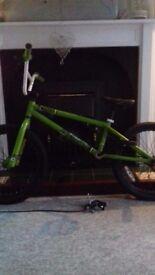 Green voodoo bmx bike