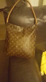 Real Louis Vuitton handbag leather