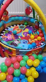 Playgro ballpit and baby gym