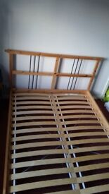 Ikea double bed for sale