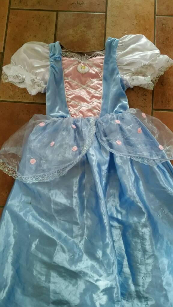 Cinderella reversible dress Age 7/8