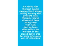 AJ Handyman Removals Cleaners