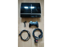 Sony PlayStation 3 (CECH-G03) Upgraded to 500gb on rare 3.55 OFW - 3 Month Warranty