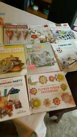 Sowing and knitting books