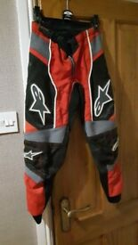 Kids alipinestar pants