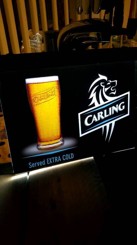 Carling sign
