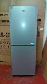 BEKO silver fridge freezer new ex display